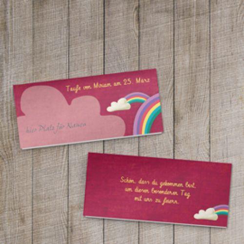 Dankeskarten Taufe · Tischkarten Taufe